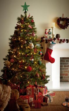 Decorations Trees Decorations Christmas Shop George At Asda