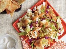 Chinese Chicken Salad - this one is always in weekly rotation! So delicious! #whatsfordinner
