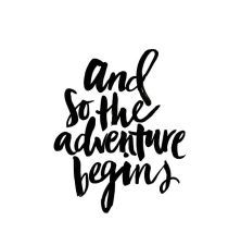 And so the adventure