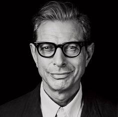 Jeff Goldblum in Moscot Vilda