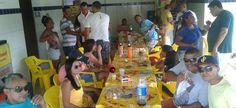 Participantes do Grupo News participam de confratenização em Teixeira de Freitas