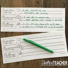 Growth Mindset {Ticket out the Door} FREEBIE