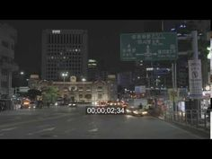 timelapse native shot : 16-10-27 TL- 명동 밤도로-1 3840x2160