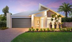 The Montego - North Lakes Display Village, Brisbane | McDonald Jones Homes #mcdonaldjoneshomes #northlakes #brisbane #queensland #facade