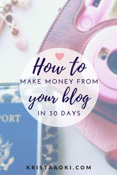 People have asked me, how do you make money blogging? How can I make money blogging? You need to write amazing content and then promote those posts using social media. You don't have to be a guru or computer wizz to do it. I tell you how in this article, and explain to you all about affiliate marketing, sponsored posts, advertisements, and how you can get started making money from your blog this month.