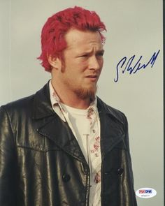 Scott Weiland Signed Authentic Photo