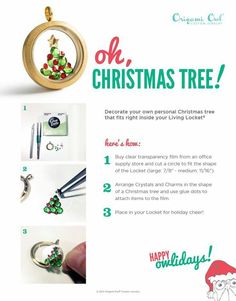 Origami Owl Charms Move Around