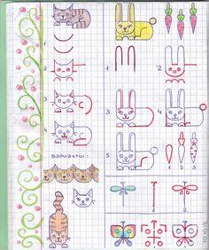 Katze, Hase, Libelle, Schmetterling
