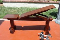 Weight Bench Position,Flat/Incline) Doubles As Patio Bench: 10 Steps (with Pictures)