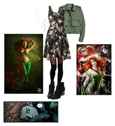 """Gotham Ivy Pepper"" by alex2115 ❤ liked on Polyvore featuring ASOS"