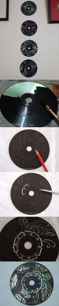 18 Cosas geniales que puedes hacer con tus viejos CDs