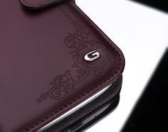 SPIGEN SGP Samsung Galaxy S3 Leather Case Gariz Valentinus Dark Brown