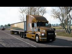 American Truck Simulator - ATS 1.39 - Mack Anthem - ProMods Canada version American Truck Simulator, Canada, Trucks, Truck