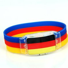World Cup 2014 party ideas: LED lamp Wristband with national flag For 2014 FIFA Brazil WORLD CUP Sports Bracelet Souvenir Soccer Wrist Strap. List Price:$19.00 Price:$5.99  FREE Shipping on orders over $35.  You Save: $13.01 (68%)