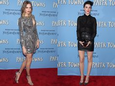 Cara Delevingne and St Vincent made a *serious* statement at the Paper Towns premiere...