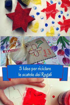 penso+invento+creo: 3 Idee per riciclare le SCATOLE dei regali di Natale