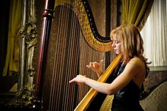 harp, harpist Chantal Dube  www.chantaldube.com  by www.impulsephotography.com