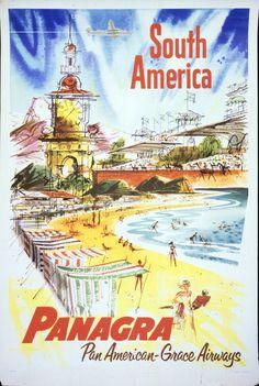 Panagra ~ Pan Am ~ Grace Airways _____________________________ Amérique du Sud ~ South America