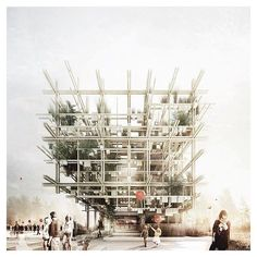 { australian expo pavilion 2015 } // awesome design and render by @chrisprecht_penda with alex daxboeck - competition finalist ▲ #iArchitectures #architecture #archilovers #arquitectura #architettura #architectural #architects #architecturestudent #architecturemodel #architectureschool #sketch #rendering #handrender #doodle #drawing #art #modelmaking #maquette #maqueta