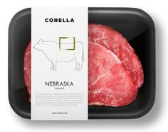 Brilliant Meat Packaging Shows You What Animal Part You're Eating