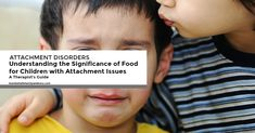 Food is necessary for survival but for children with attachment issues, food can become a central focus in their life. It may even become an obsession.