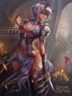 Assassin Girl by *jiuge on deviantART