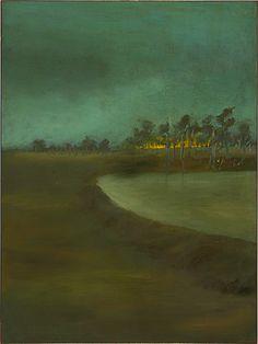 Sidney Nolan 1946-7 Ned Kelly Series - Landscape 1947