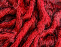 Fire Red Fake Fur Faux Fur Fabric by the Metre / Yard – Warehouse 2020 Fake Fur Fabric, Fabric Suppliers, Faux Fur Pom Pom, Fur Clothing, Yard, Red Colour, Pom Poms, Warehouse, Beautiful