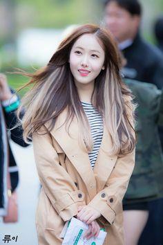 Hair Inspo, Hair Inspiration, Hair Color Underneath, Korean Women, Korean Lady, Hair Color Highlights, Hair Colour, Korean Hair Color, Sinb Gfriend