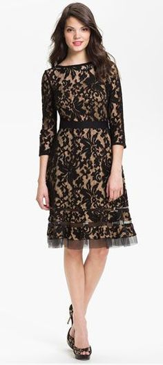 Gorgeous lace dress!