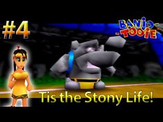 Banjo Tooie Lets Play: Tis the Stony Life!  (Part 4) [60FPS]