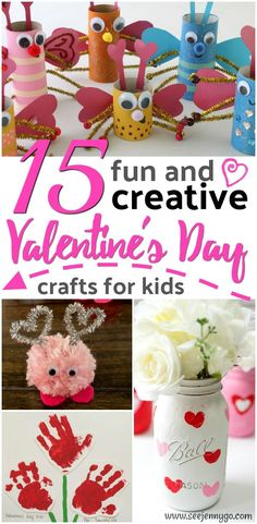 Creative and Easy Valentine's Day Crafts for Kids!