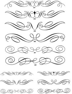 calligraphic ornaments cd-rom and book   doverpublications...   free samples each week when you sign up