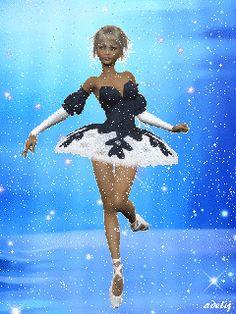 Балерина - анимация на телефон №1125317