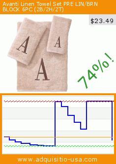 Avanti Linen Towel Set PRE LIN/BRN BLOCK 6PC (2B/2H/2T) (Misc.). Drop 74%! Current price $23.49, the previous price was $91.26. https://www.adquisitio-usa.com/avanti/linen-towel-set-pre