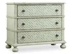 "Hooker - IN GREEN FINISH - Sunset Point Bachelor's Chest 5326-90017  Width 38 1/4"" Depth 19 1/4"" Height 32 1/4"""