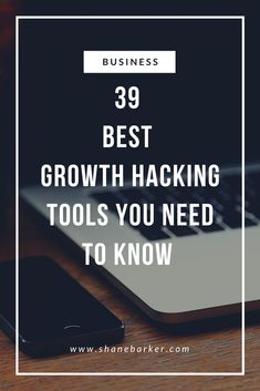 We have prepared a list of 39 of the best growth hacking tools that will help marketers to achieve their defined goals.