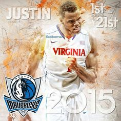 By @dallasmavs With the 21st pick in the #NBADraft, the Mavs select Justin Anderson from Virginia! #MavsDraft2015 #Dallas #Mavericks #Mavs #MFFL #NBA #DallasMavericks #MavsNation