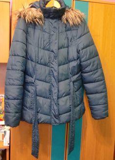 Kup mój przedmiot na #vintedpl http://www.vinted.pl/damska-odziez/kurtki/11489539-ciepla-zielona-kurtka-zimowa-butik