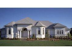 Randolph Bay Sunbelt Home  from houseplansandmore.com