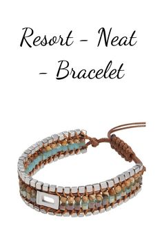 Resort Neat is an elegant accessory crafted with precision down to the last detail. An adjustable and natural bracelet of high quality. Period, Fragrance, Delivery, Accessories, Free Shipping, Watch, Detail, Elegant, Natural