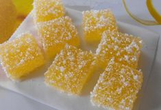 How to make Candied fruit jelly ♡ English subtitles Russian Cakes, Russian Desserts, Russian Recipes, Mini Desserts, Sweet Desserts, Just Desserts, Dessert Drinks, Dessert Recipes, Macaroon Cookies