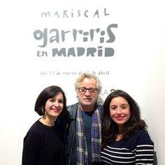 """Inauguración de """"Garriris en Madrid"""" una exposición de Javier Mariscal."""