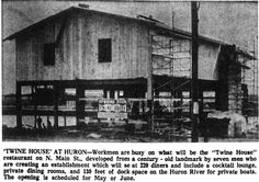Old Twine House being renovated into restaurant