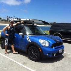 """""""Roof racks make easy work of hauling SUP boards to the beach"""" - Now you need to secure your SUP Board."""