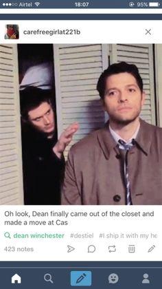 tumblr  #Castiel #Dean #Destiel #Dean&Castiel