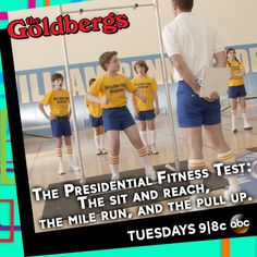 The Goldbergs... Do they still do this in middle school?