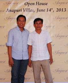 A great time Anapuri Villas Open House with agent gathering