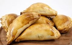 Empanadas Stock Photo (Edit Now) 64170481 Greek Cheese, Ham And Cheese, Brazilian Dishes, Lithuanian Recipes, Party Finger Foods, Sorbets, Cheese Bites, Bread And Pastries, Greek Recipes