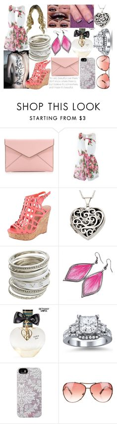 """""""Let's Hope It's Beautiful"""" by lavonneb88 ❤ liked on Polyvore featuring Rebecca Minkoff, Charles by Charles David, MAC Cosmetics, Zales, Wet Seal, Aéropostale, Isaac Mizrahi and Michael Kors"""